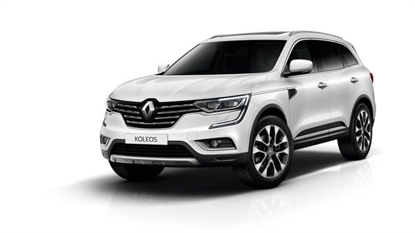 Renault Koleos colours